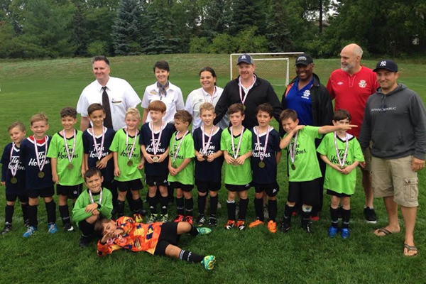 Thank you Tim Hortons Sponsored the U4 to U8 age groups – Total number of teams: 48