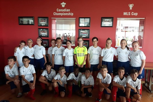 U11 Girls and Boys Visit TFC Academy
